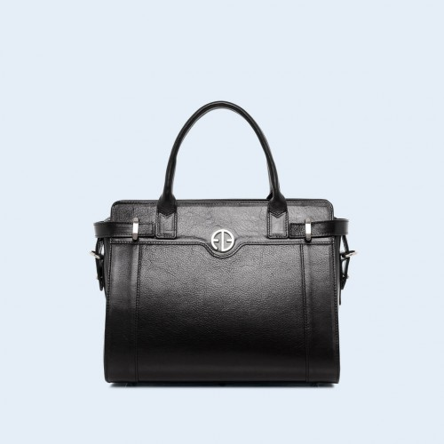Women's shoulder and handbag - Verity Day medium black