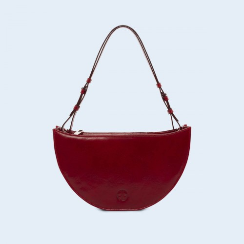 Aware Bowl bag cherry red
