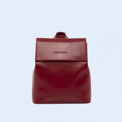 Aware backpack cherry red