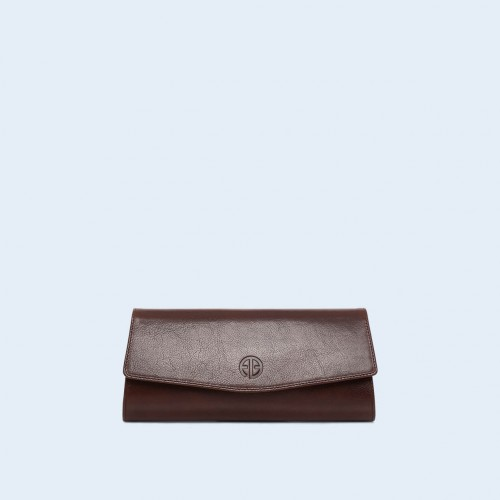 Clutch bag - ADAM BARON Home 07 chestnut brown