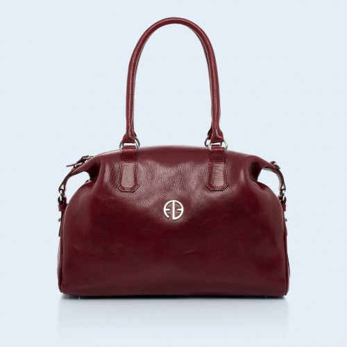Women's Bag - Verity Bowler bag burgundy