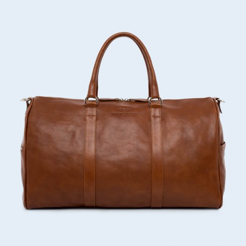 Leather travel bag - Nonconformist Travel cognac
