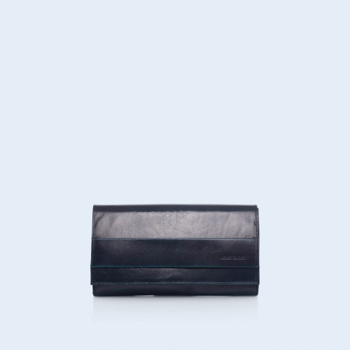 Clutch bag - Verity Night navy blue