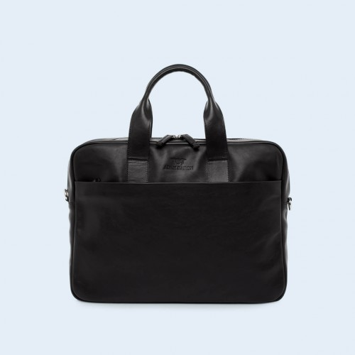 Leather business briefcase- Nonconformist Sharp1 Bag black