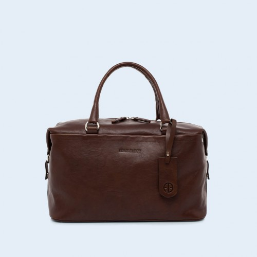 Leather medical bag - Verity Two Function medium brown