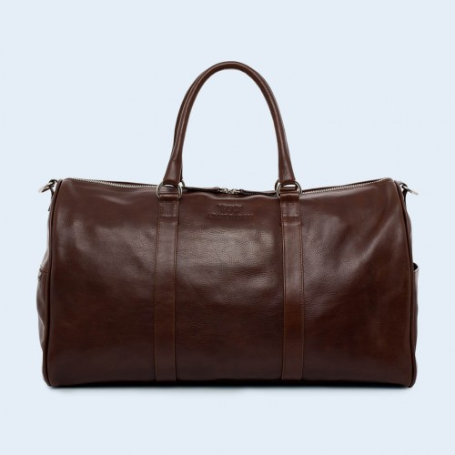 Leather travel bag - Nonconformist Travel brown