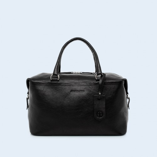Leather medical bag - Verity Two Function medium black