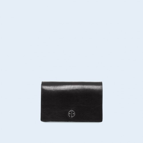 Leather women's handbag - Dare! night 02 black